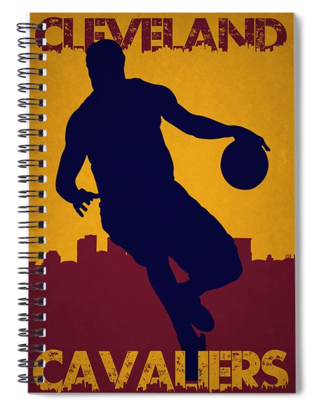 Cleveland Cavaliers Lebron James Spiral Notebook