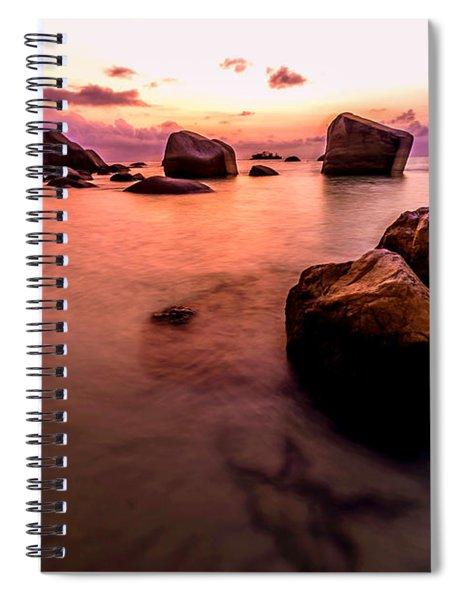 Coastal Sunrise Spiral Notebook