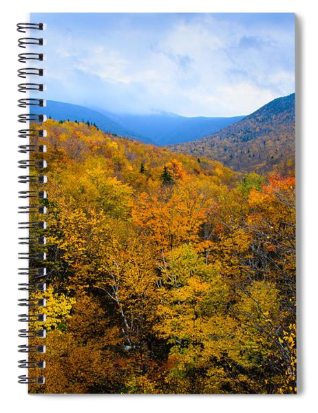 Colors Of Nature Spiral Notebook