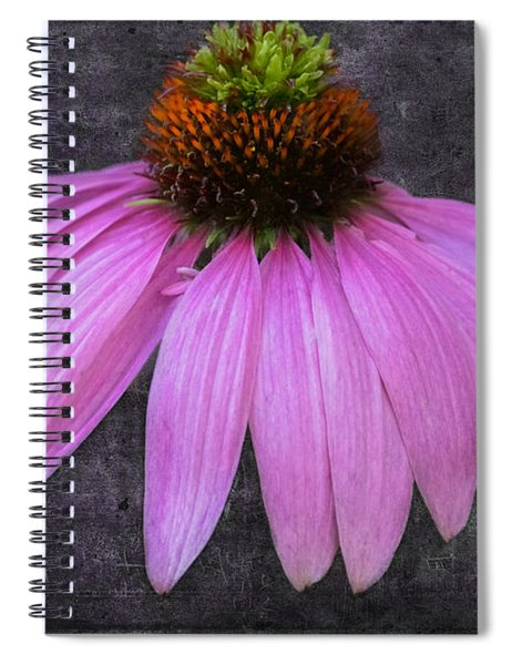 Spiral Notebook featuring the photograph Cone Flower by Garvin Hunter