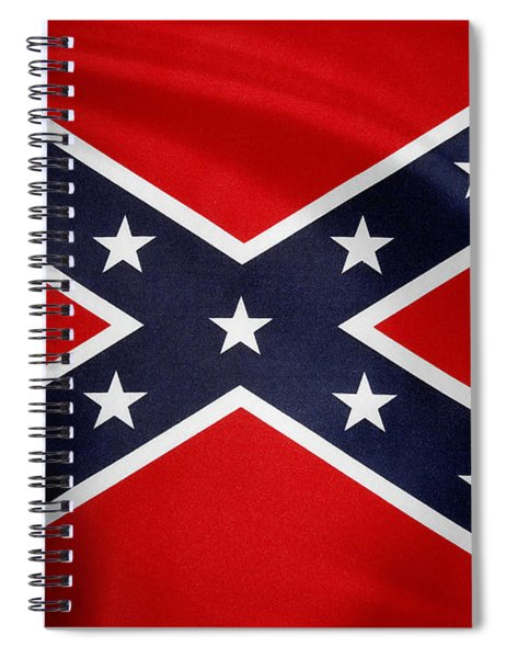 Confederate Flag 5 Spiral Notebook