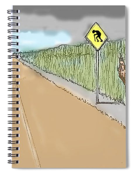 Coots Crossing Spiral Notebook