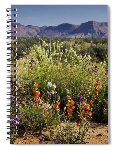Desert Wildflowers Spiral Notebook