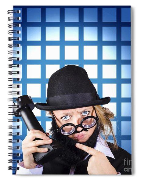 Developing Strategic Business Game Plan Spiral Notebook
