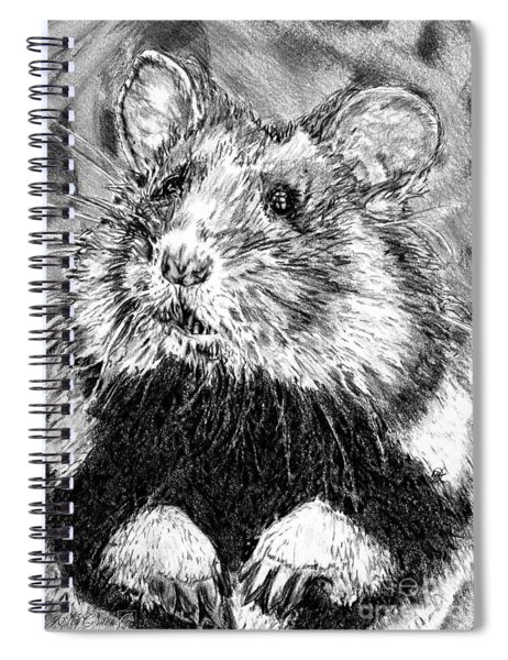 Did Someone Say Nuts Spiral Notebook