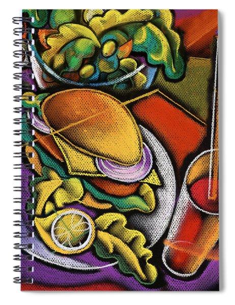Food And Beverage Spiral Notebook