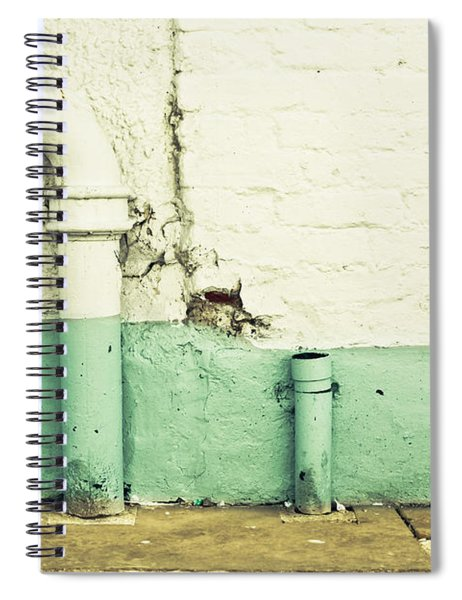Drainpipe Spiral Notebook