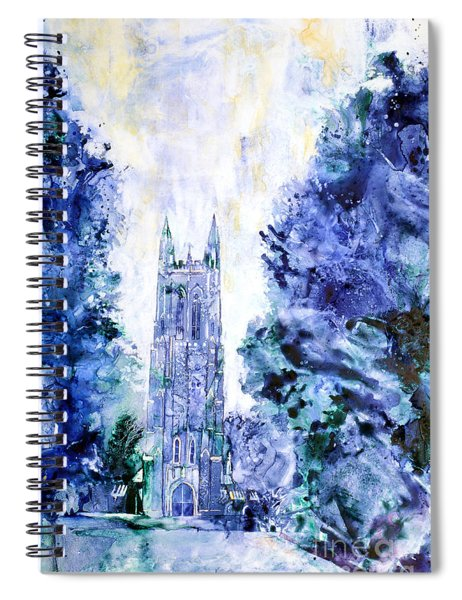 Duke Chapel Spiral Notebook