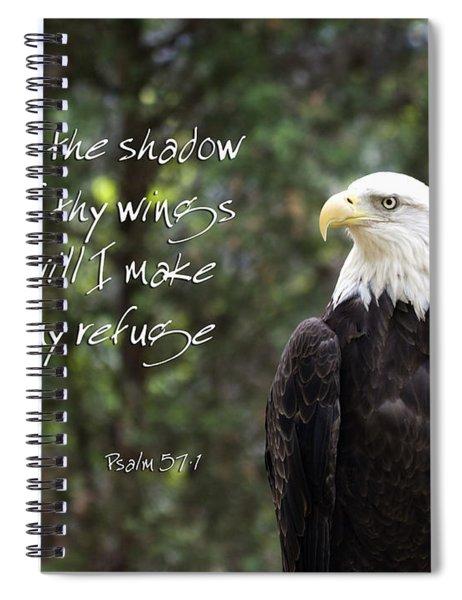 Eagle Scripture Spiral Notebook