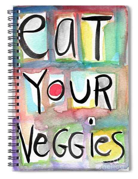 Eat Your Veggies  Spiral Notebook