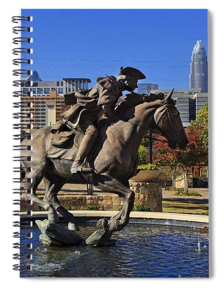 Elizabeth Park At Charlotte Spiral Notebook