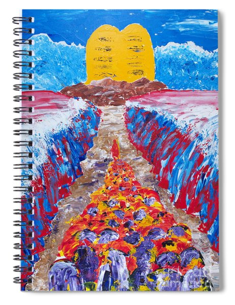 Exodus Spiral Notebook