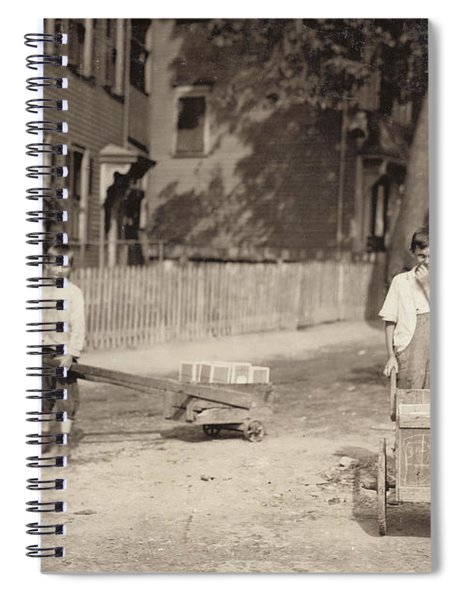Family Of Workers, 1912 Spiral Notebook