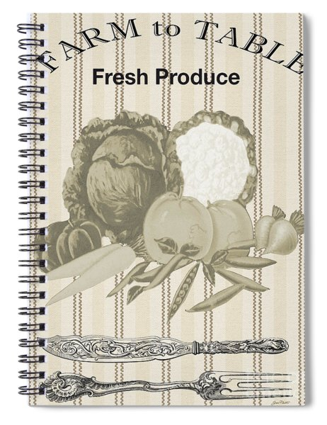 Farm To Table-jp2124 Spiral Notebook
