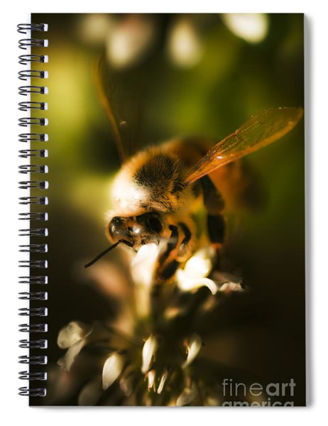 Fauna And Flora Meet Spiral Notebook