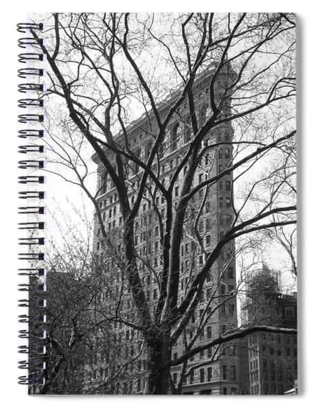 Flat Iron Tree Spiral Notebook