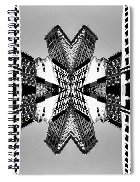 Flat Iron Spiral Notebook