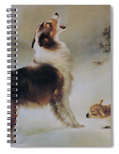 Found Spiral Notebook