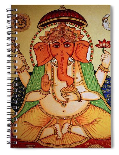 Spiritual India Spiral Notebook
