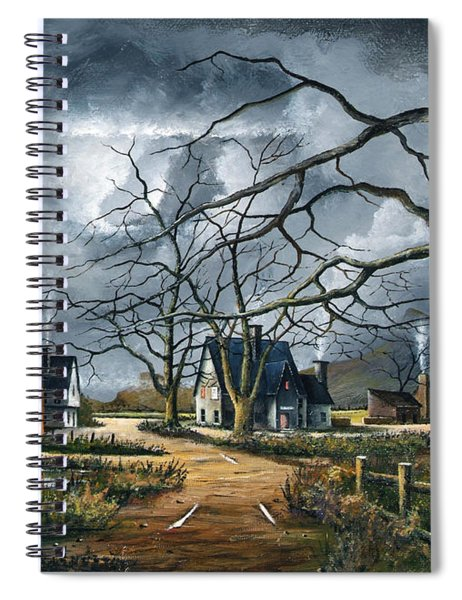 Gathering Storm Spiral Notebook