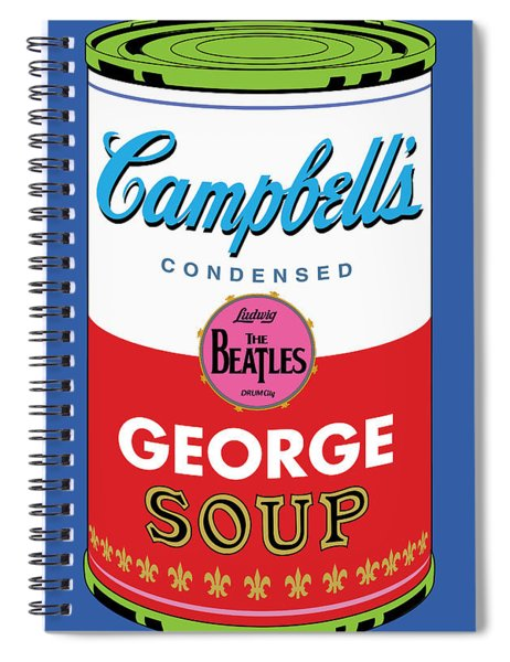 George Spiral Notebook by Gary Grayson