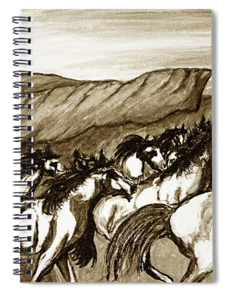 Gift Of The Pinto Spiral Notebook