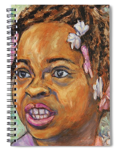 Girl With Dread Locks Spiral Notebook