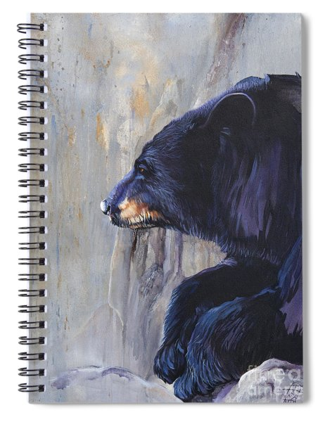 Grandfather Bear Spiral Notebook