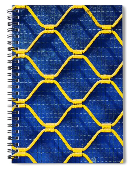 Grilled Rolling Shutters In Shop Spiral Notebook