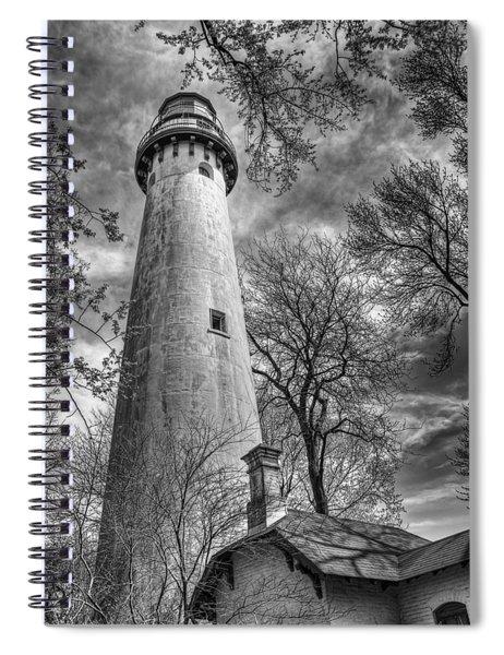 Grosse Point Lighthouse Spiral Notebook