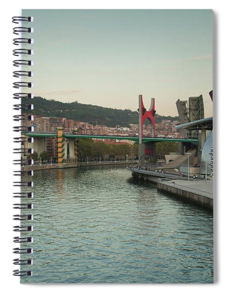 Guggenheim Museum Designed By Frank Spiral Notebook