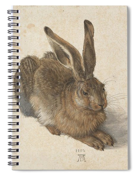 Young Hare Spiral Notebook