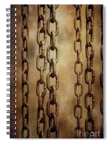 Hanged Chains Spiral Notebook
