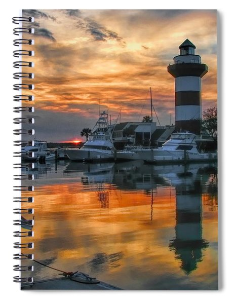 Harbour Town Sunset Spiral Notebook