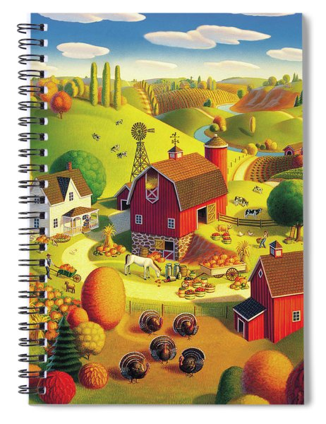 Harvest Bounty Spiral Notebook
