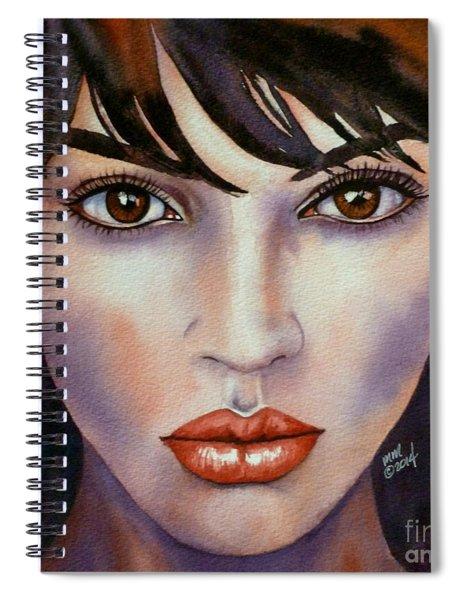 Heaven In Her Eyes Spiral Notebook