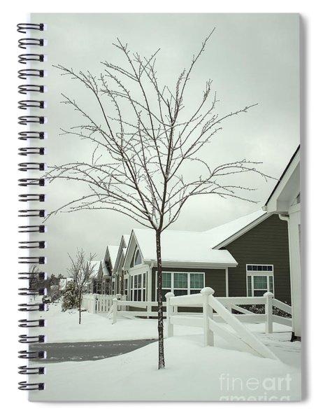 Hello Snow Spiral Notebook