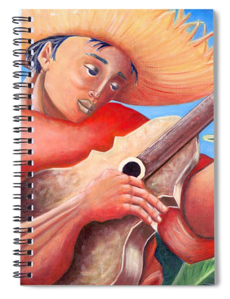 Hidalgo Campesino Spiral Notebook