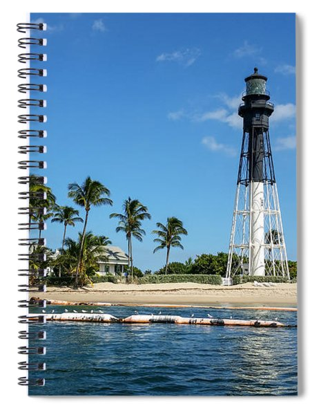 Hillsboro Inlet Lighthouse Spiral Notebook
