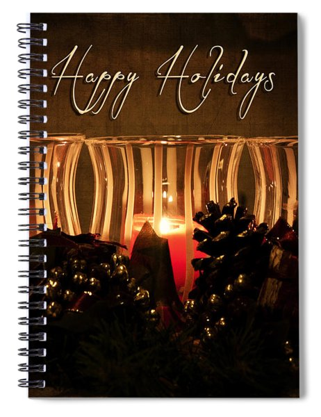 Holiday Glow Spiral Notebook