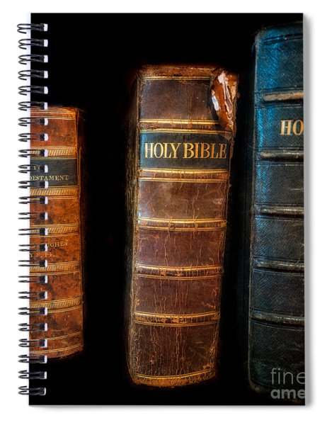 Holy Bibles Spiral Notebook