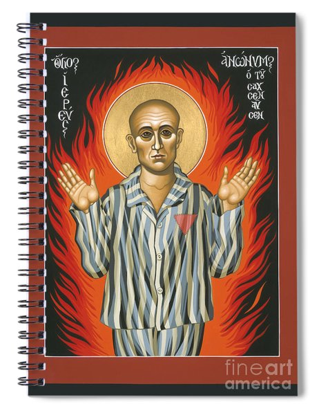 Holy Priest Anonymous One Of Sachsenhausen 013 Spiral Notebook