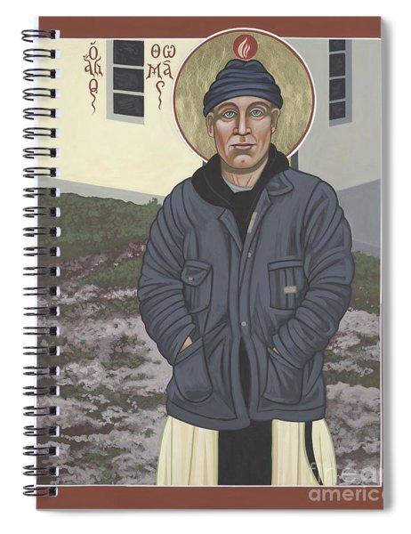 Holy World Evangelist Thomas Merton 267 Spiral Notebook