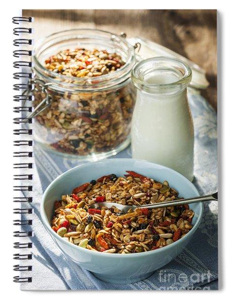 Homemade Granola Spiral Notebook
