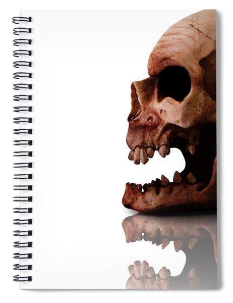 Horror Head Spiral Notebook