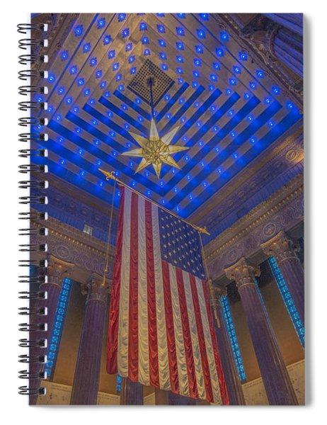 Indiana War Memorial Shrine  Spiral Notebook