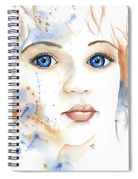 Light Of The Heart Spiral Notebook