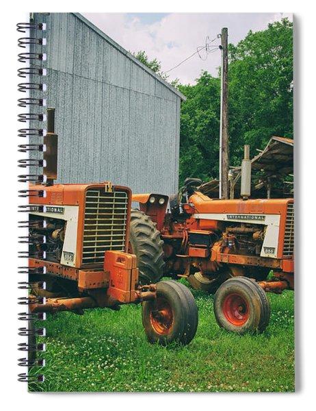 International Lineup Spiral Notebook