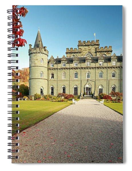 Inveraray Castle Spiral Notebook