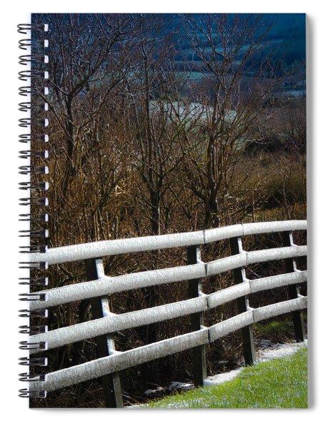 Irish Winter Spiral Notebook